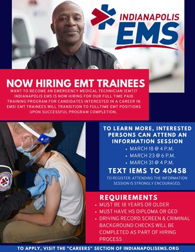 IEMS EMT Trainee program